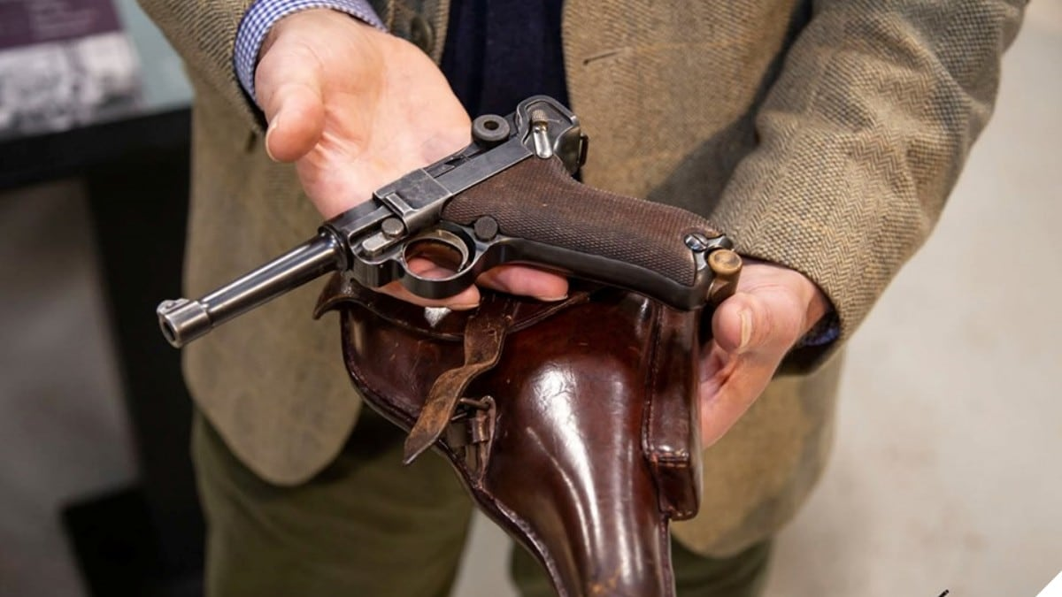 Rare WWI-era Luger Saved from Torch by British Museum