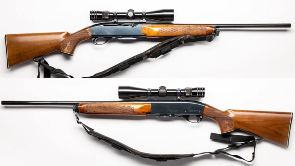 This Remington 742 Woodmaster, chambered in .30-06, https://www.guns.com/firearms/rifles/semi-auto/742-woodsmaster includes a previously installed Redfield 3-9X40 tracker Scope and is looking for a new home.