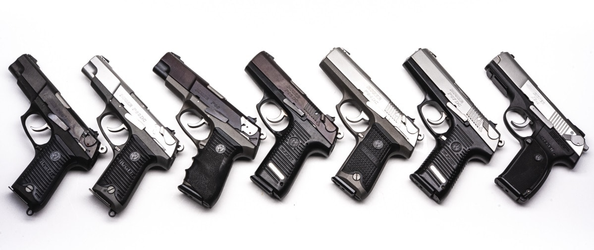Ruger's https://www.guns.com/search?keyword=Ruger%20p P-series pistols were extremely popular and common throughout the 1980s and 1990s. (Photo: Richard Taylor/Guns.com)