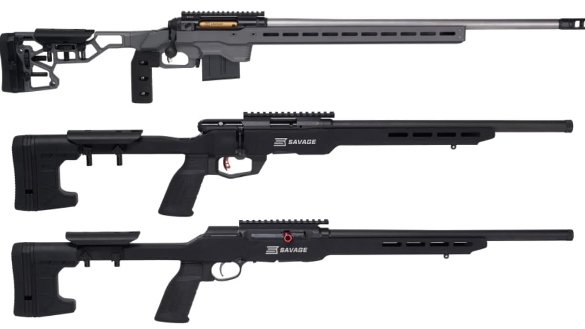 Savage Debuts New Precision Series Rifles from 22LR to 338 Lapua