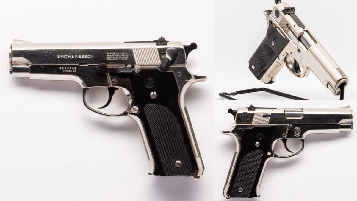 Smith Wesson 59 nickel