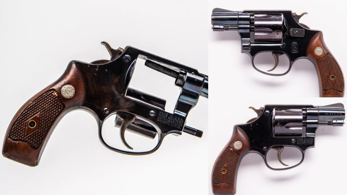 Smith & Wesson pre-32 Terrier 1950s 38SW