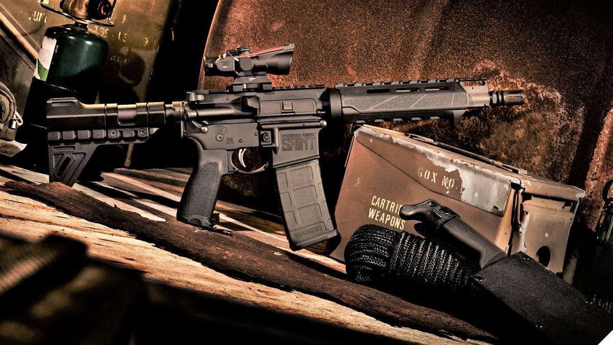 Springfield Armory: New 5.56 SAINT Pistol w Trinity Brace