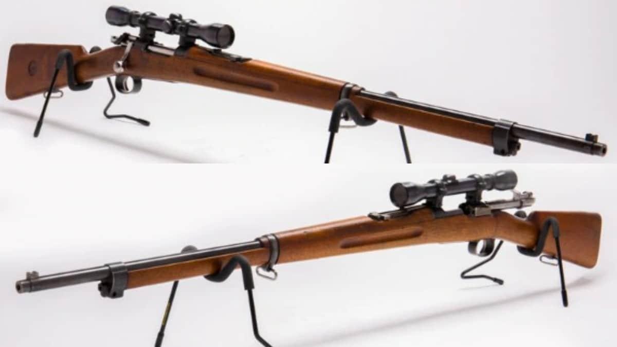 Swedish Mauser Weaver scope