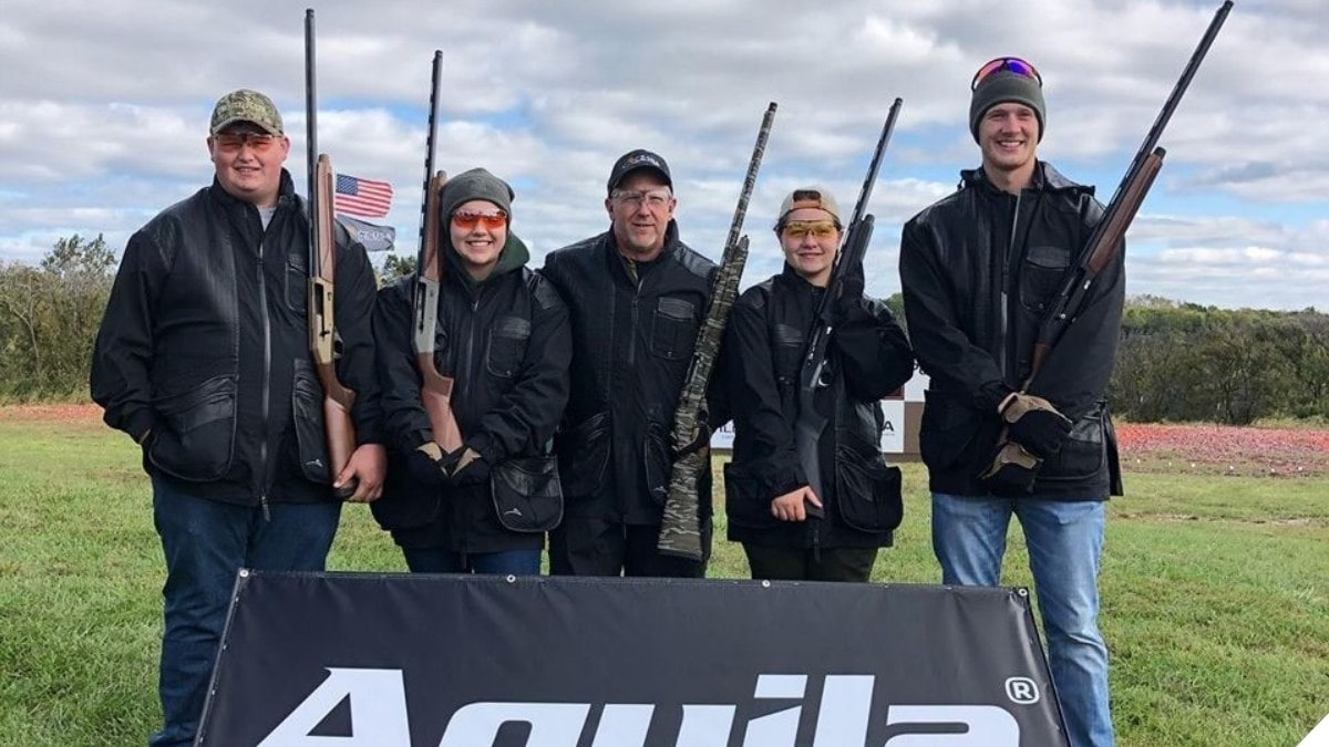 U.S. Team Sets New Guinness Clays Shooting Record