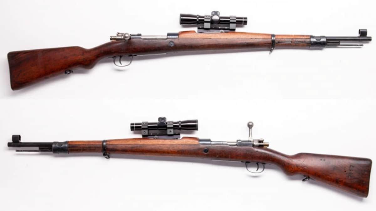 Yugo M24 47 Mauser Tasco