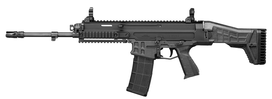The CZ BREN 2 is offered in several calibers and is seeing increased use with European military customers. It is specifically built to switch between calibers and even magazine systems easily. (Photo: CZ)