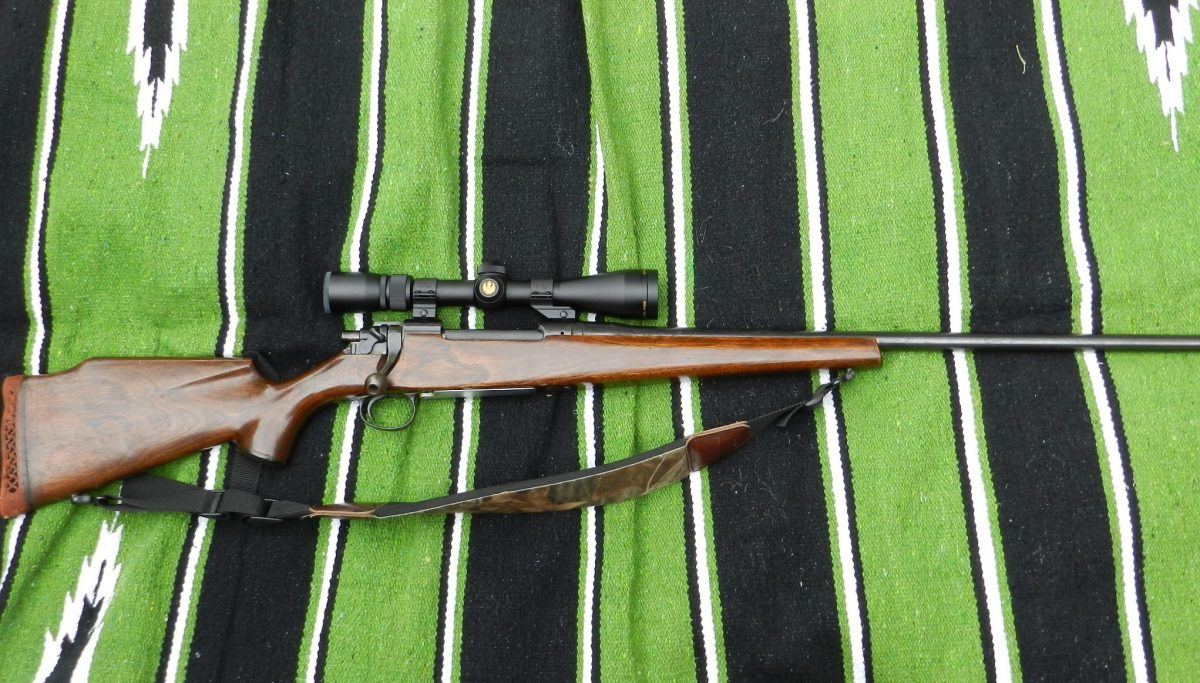 """While the rule of thumb in milsurp rifles is """"No, bubba, no!"""" there are thousands of sporterized military rifles in circulation that need love, too. This M1917 Remington """"American Enfield"""" was sporterized decades ago and still clocks in regularly as a tried-and-true deer rifle. (Photo: Chris Eger/Guns.com)"""