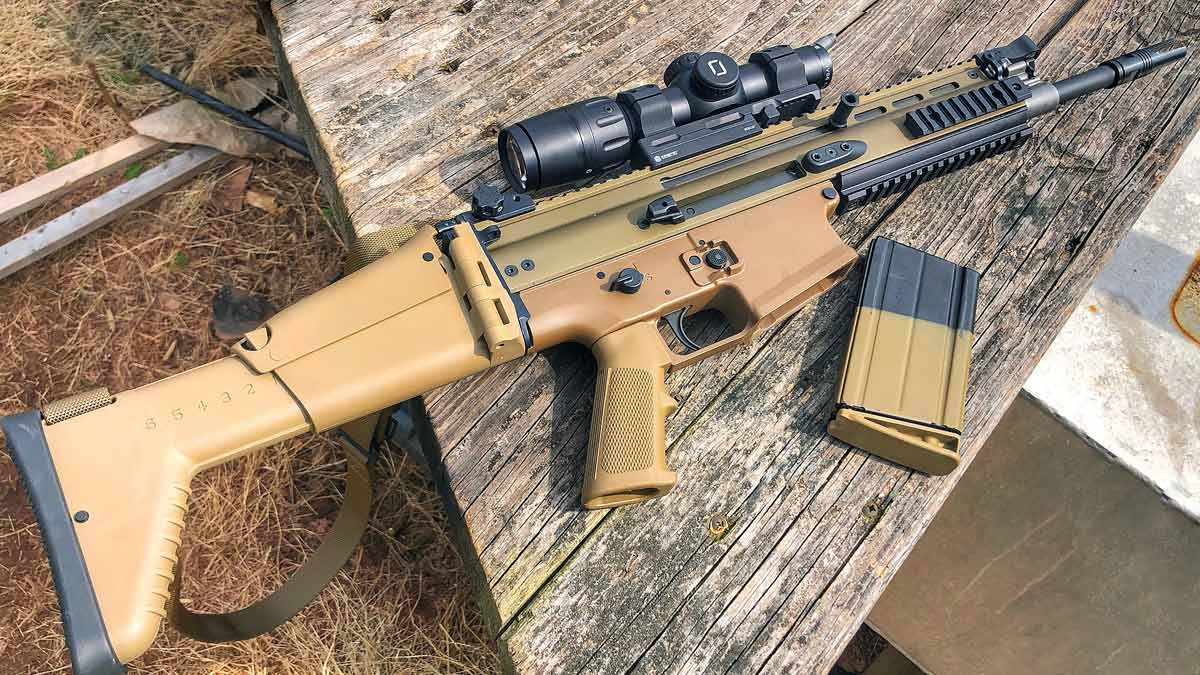 Modular Rifle Champ: What Makes the FN SCAR So Special?