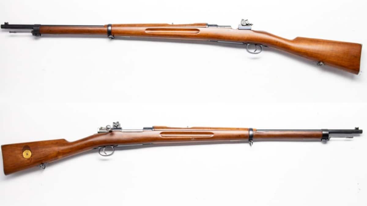 1913 Carl Gustav Mauser 6.5mm