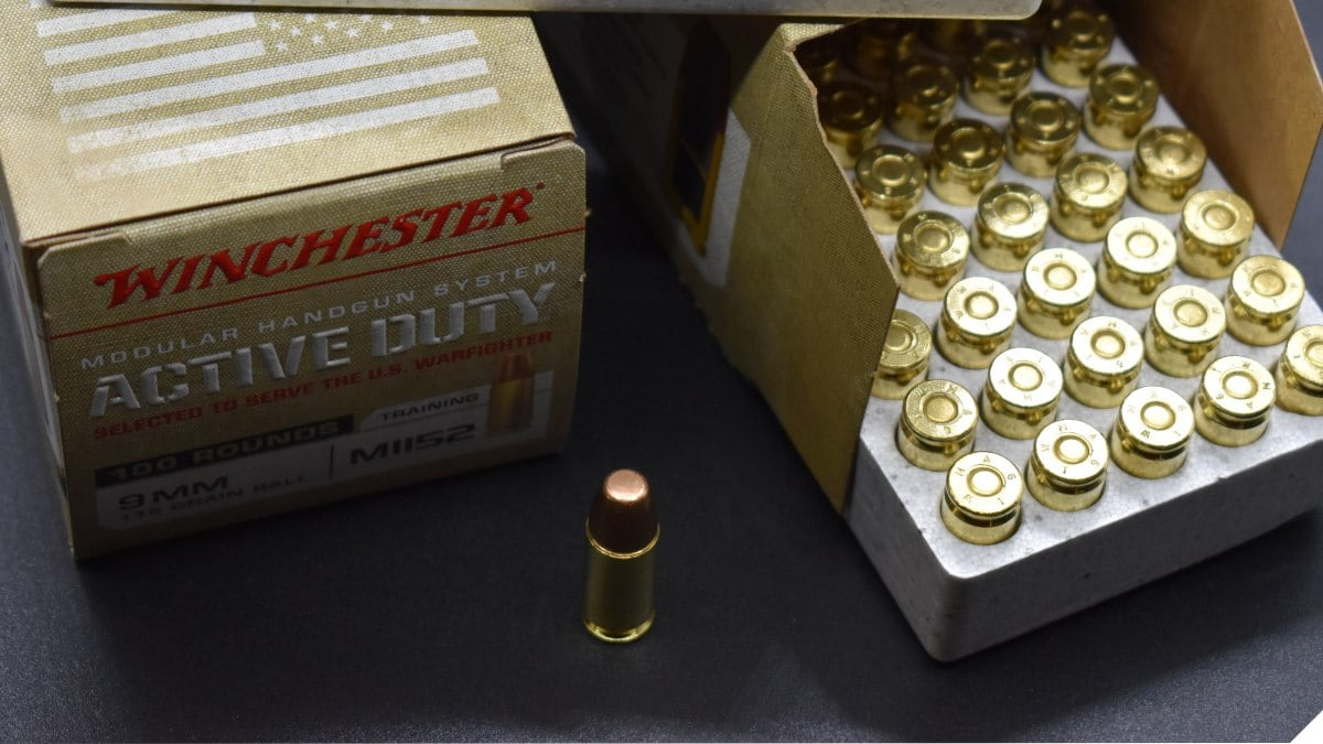 Ammo Review: Winchester M1152 Active Duty 9mm