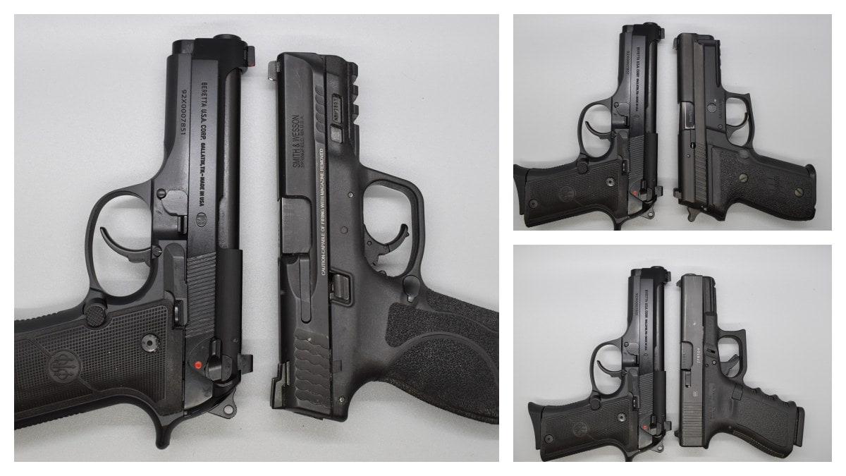 Beretta 92X Compact Compared