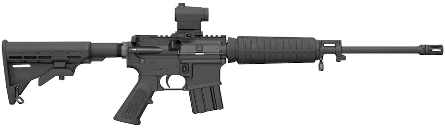Most Popular AR 2019 is the Bushmaster XM-15 QRC