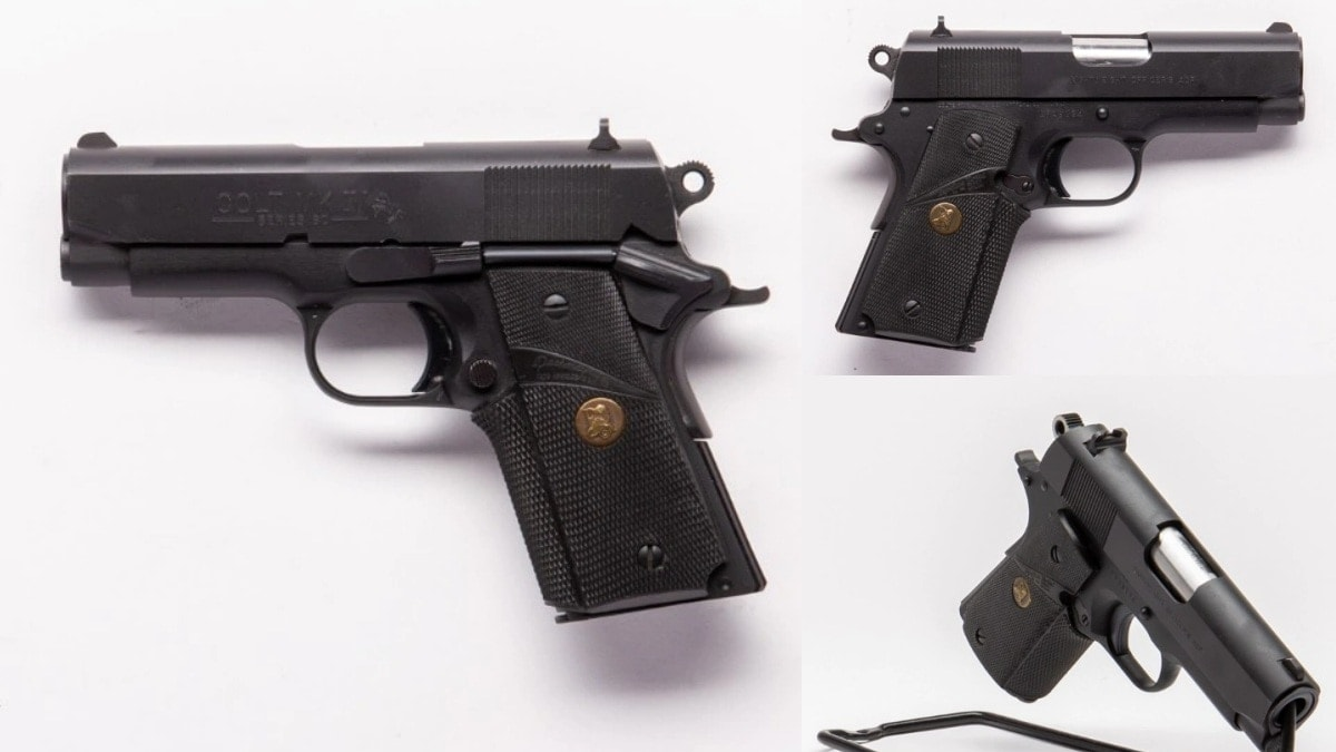 Colt Lightweight Officer model
