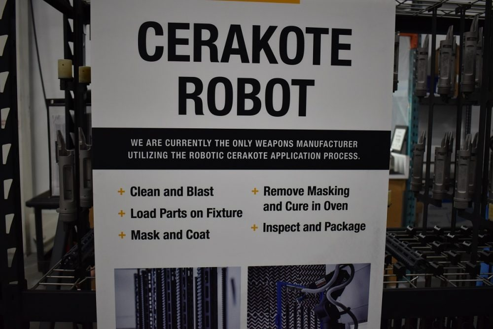 Did we mention that they also have a Cerakote robot