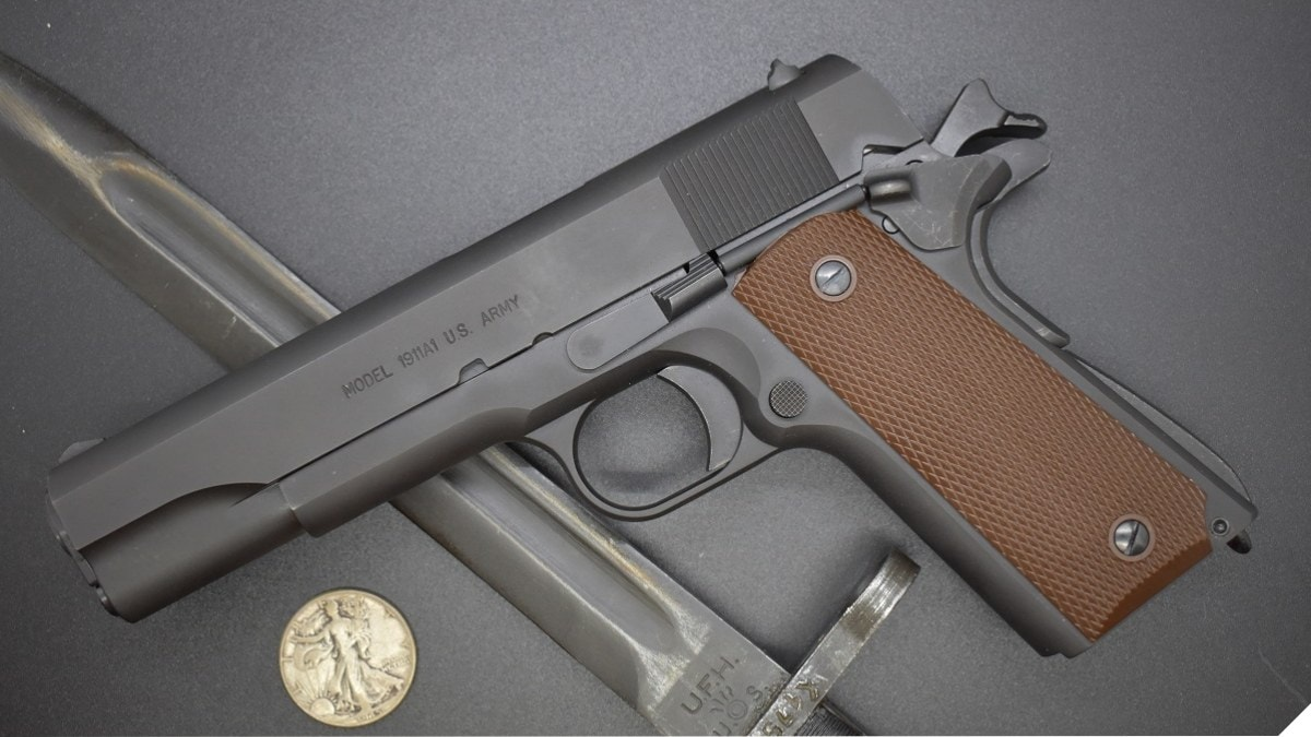 Great Looking U.S. Made GI 45: Auto-Ordnance M1911A1