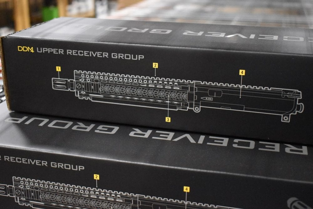 In addition to out of the box ready firearms, Daniel Defense still makes any number of rails, accessories, and even URGs (Photo: Chris Eger/Guns.com)