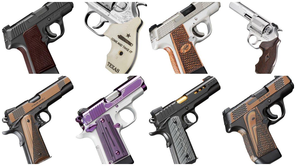Kimber Teases Almost a Dozen New Handguns for 2020