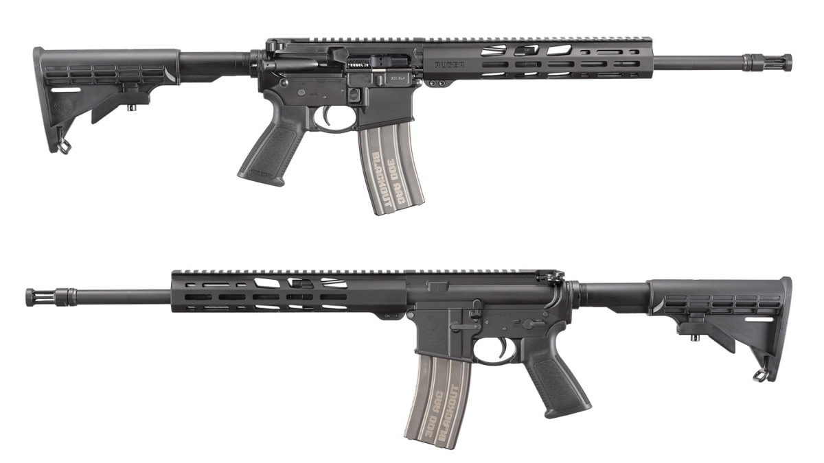 Ruger Adds New 300 Blackout AR556 Rifle Model to Catalog