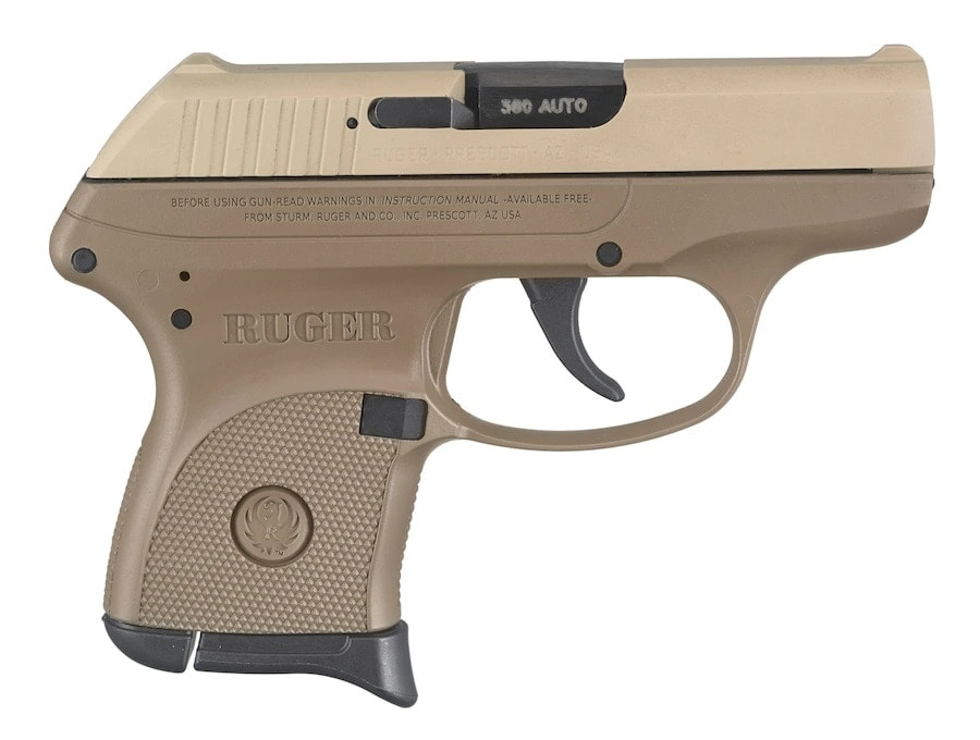 Ruger LCP FDE Most Popular Semi-Auto Pistol 2019