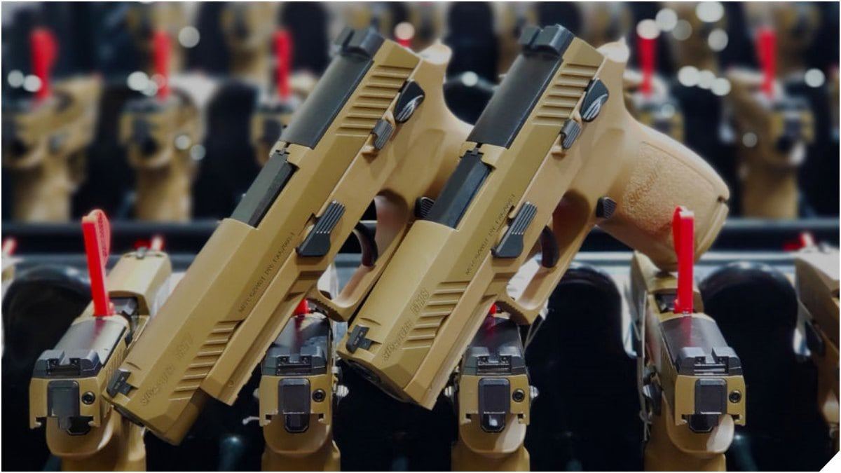 Sig Sauer Delivers 100,000th M17 Series Pistol to U.S. Military