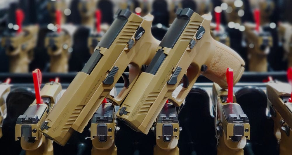 Sig Sauer Delivers 100,000th M17 Series Pistol to Army