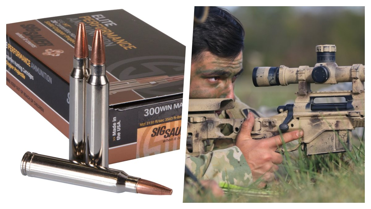 Sig Wins $10 Million Army Ammo Contract for .300 Win Mag