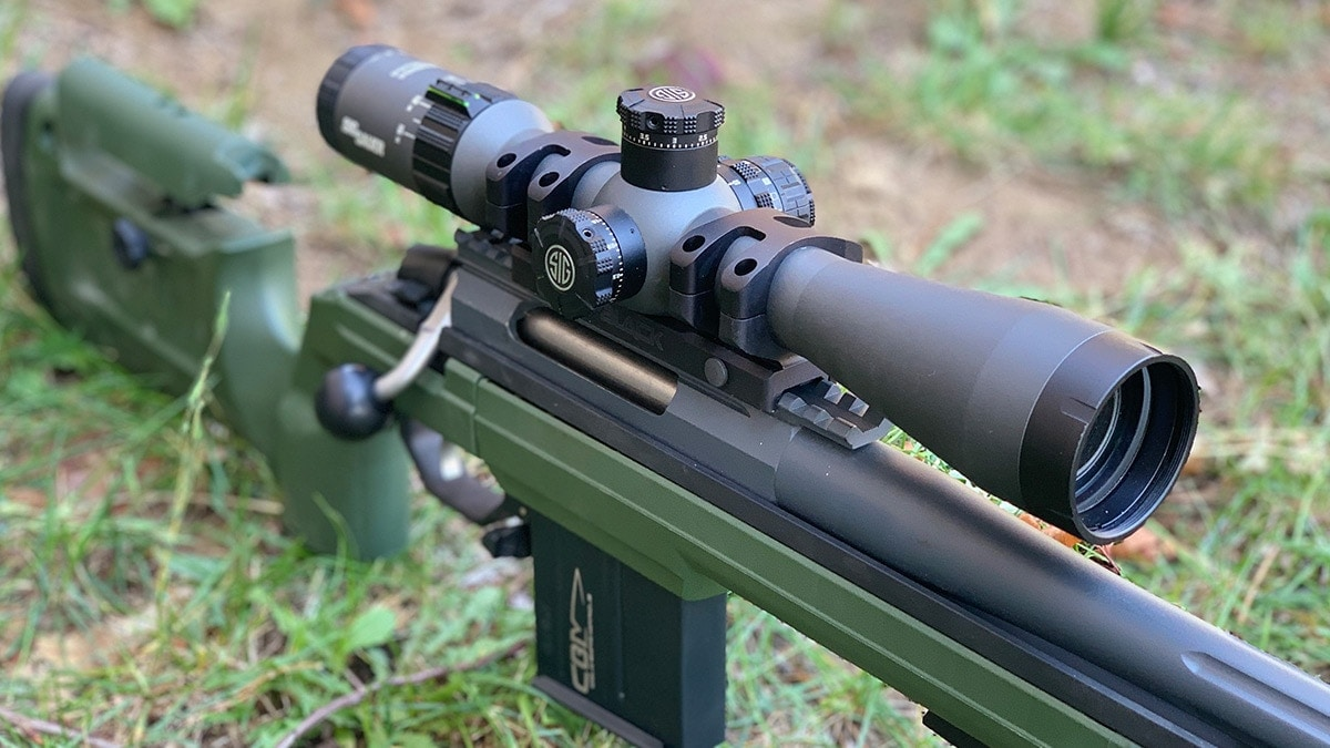 Rifle optics