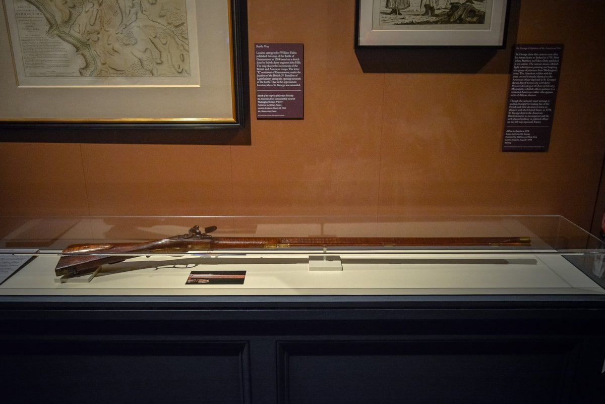 """The Continental Army riflemen often carried rifles like this one when going head-to-head against the British light infantry,"" said the Museum of the American Revolution."