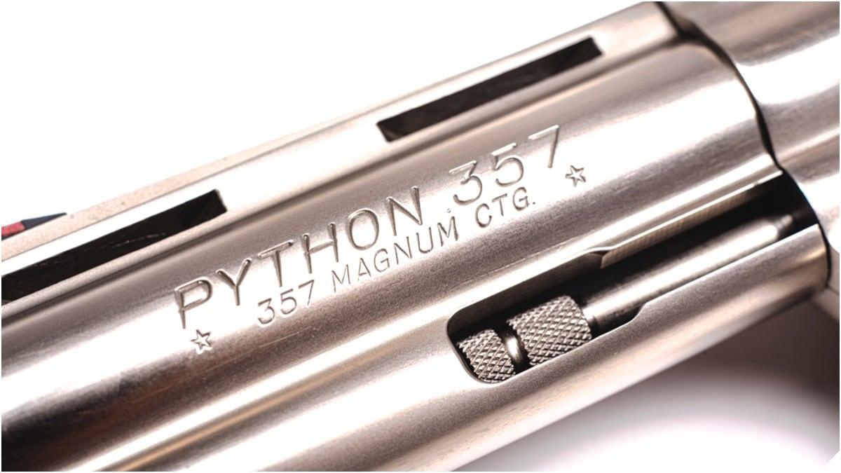 The Colt Python Aristocrat of .357 Magnum Revolvers