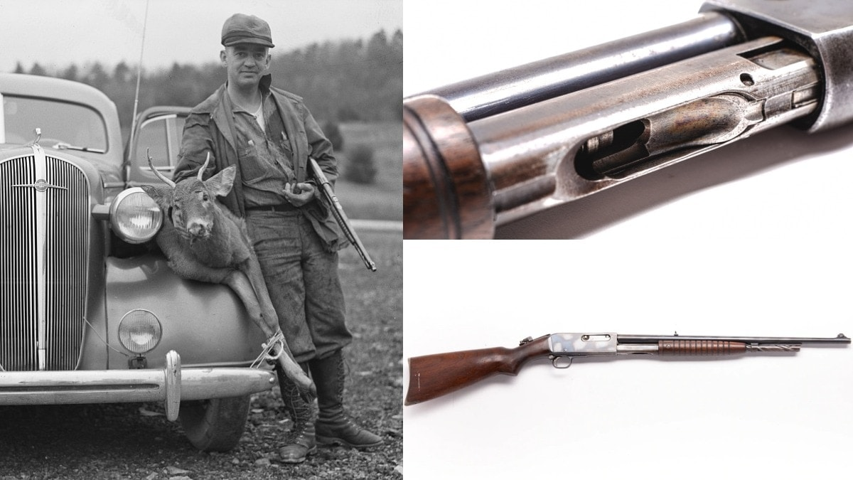 Throwback Pump-Action Rifle: The Remington Model 14