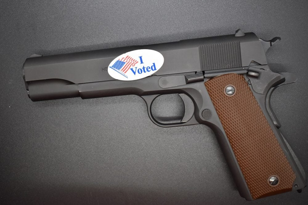 gun vote sticker eger file 1911