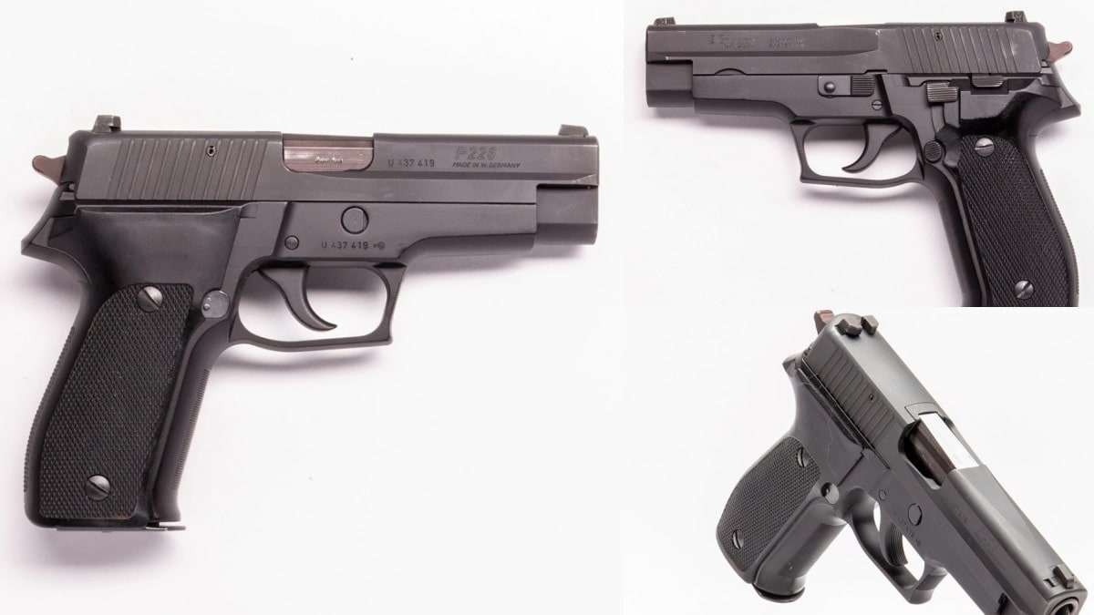 1990 West German P228 Sig Sauser