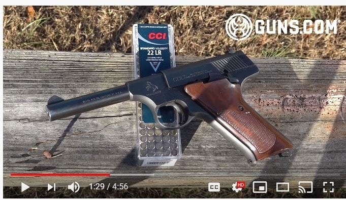 22 Plink Colt Challenger