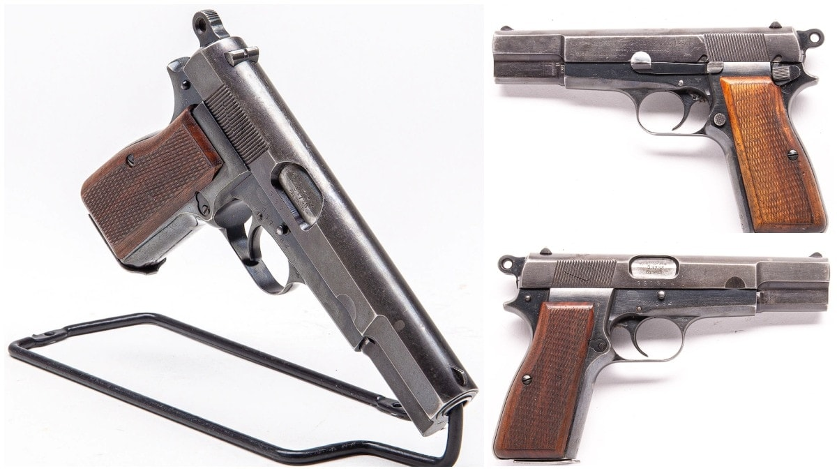 Austrian 1940s police LKG contract HI Power