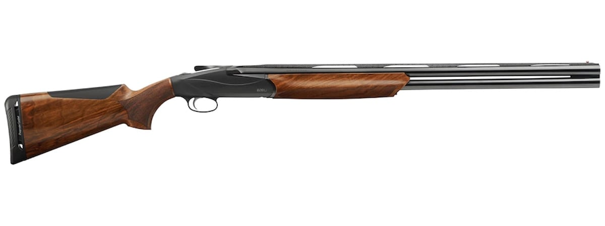 benelli shotgun on white background