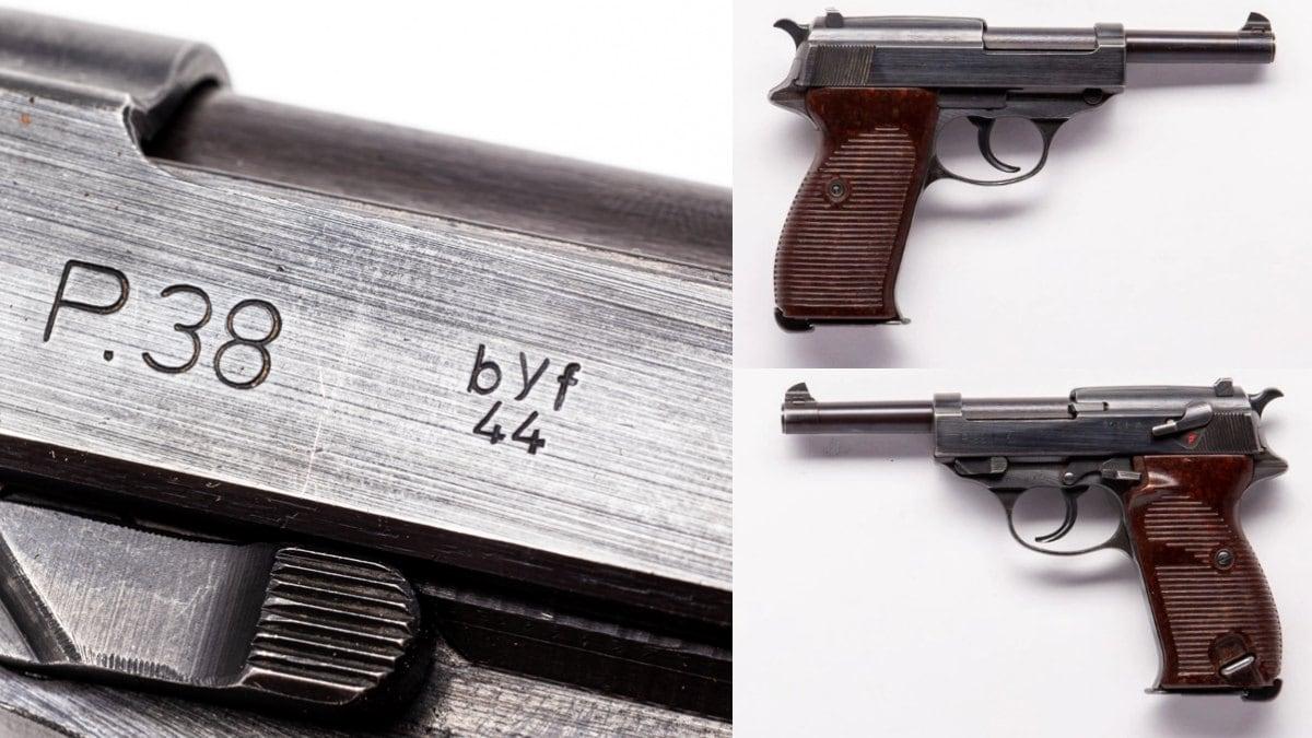 Byf44 Mauser P38