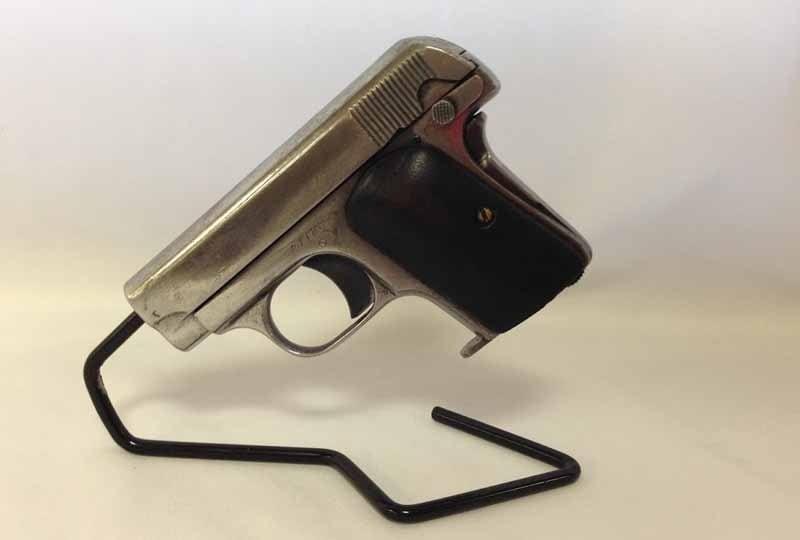 colt 1903 hammerless on display