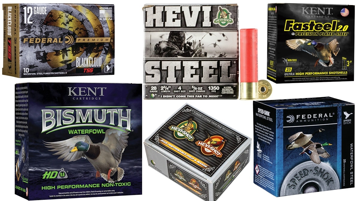Duck Hunting Ammo Brands Sure to Make it Rain Ducks