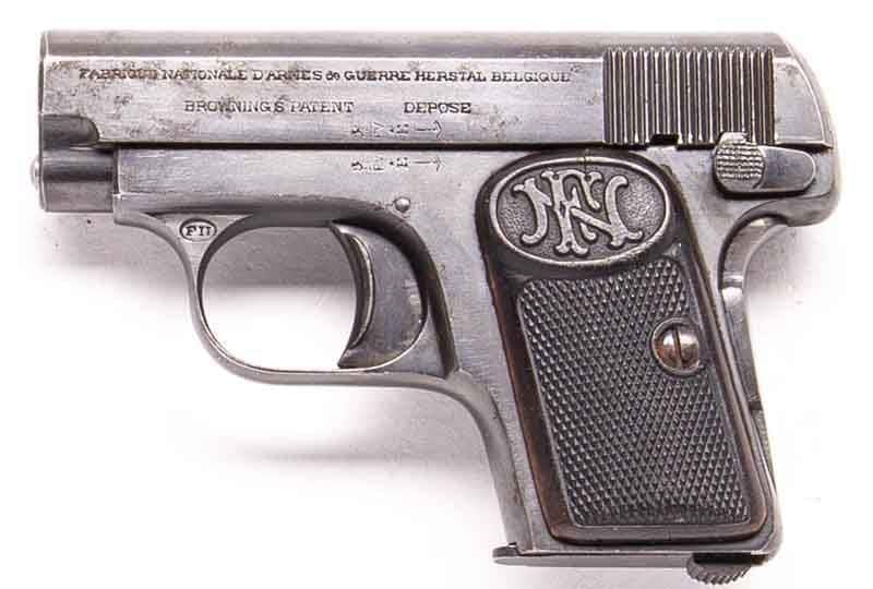 fn 1906 antique pistol