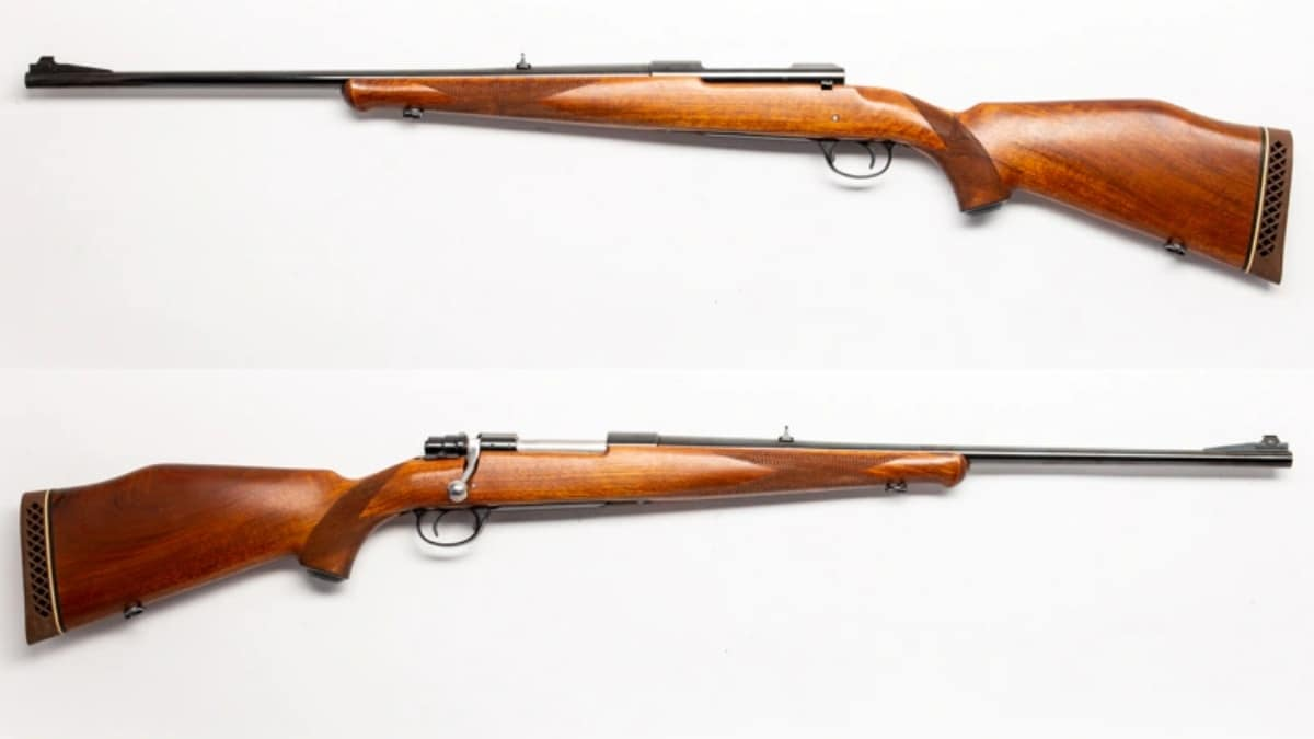 Husqvarna H-5000 bolt action rifle