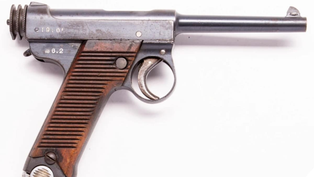 Japanese Nambu Type 14 Pistol Still Seen in the Most Curious Places