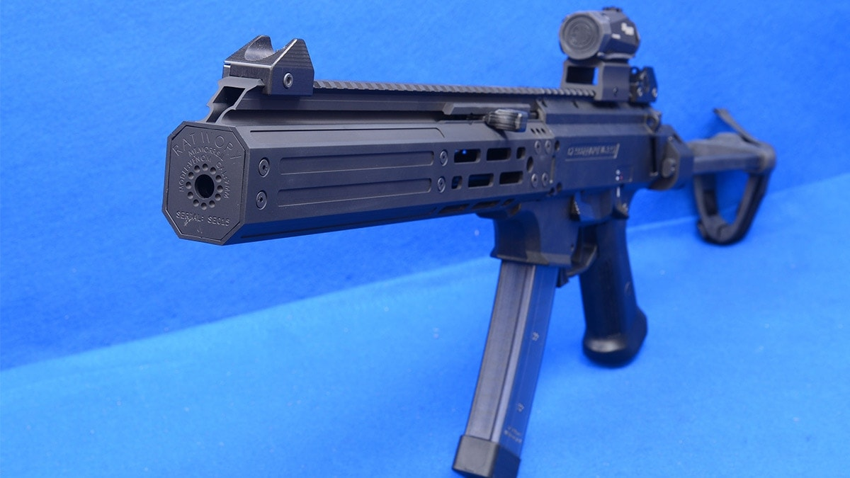 Manticore Arms Designs Suppressor for Scorpion EVO