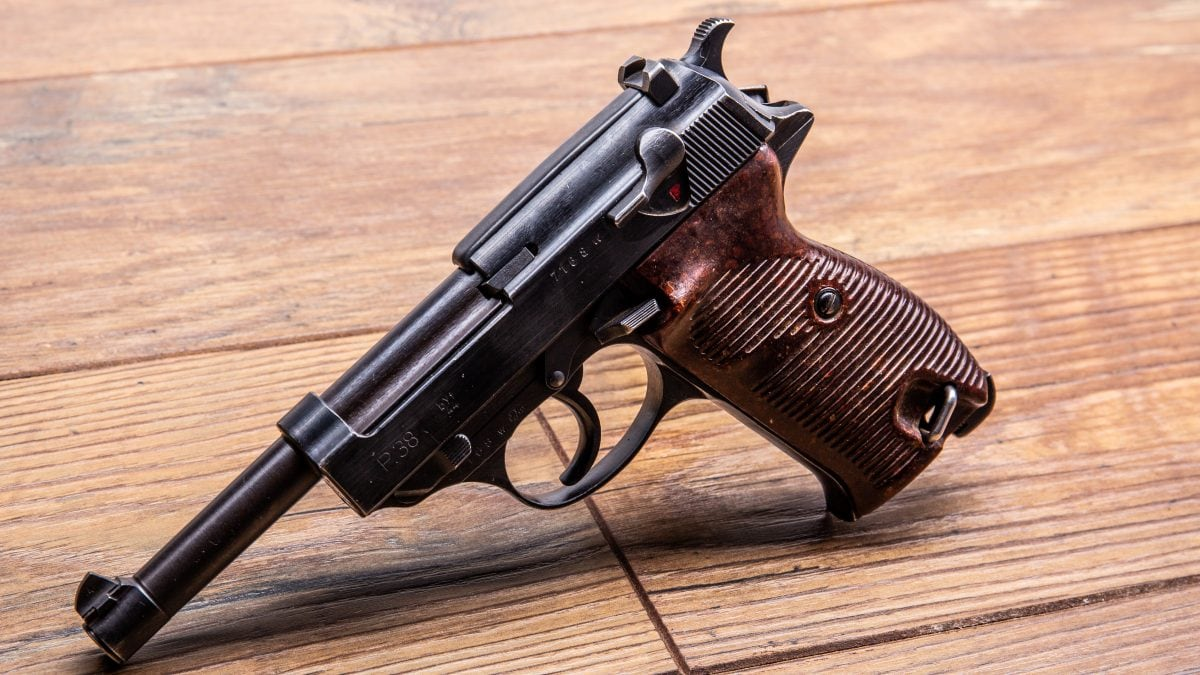 Mauser byf P38 pistol