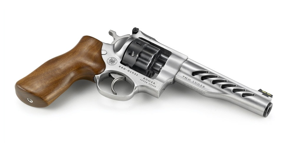 Ruger Debuts New 9mm Super GP100 Competition Revolver