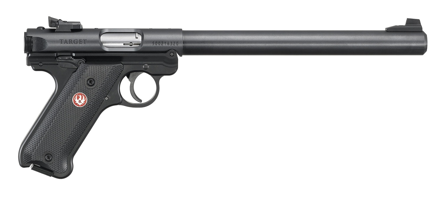 Ruger Mark IV Target Model black