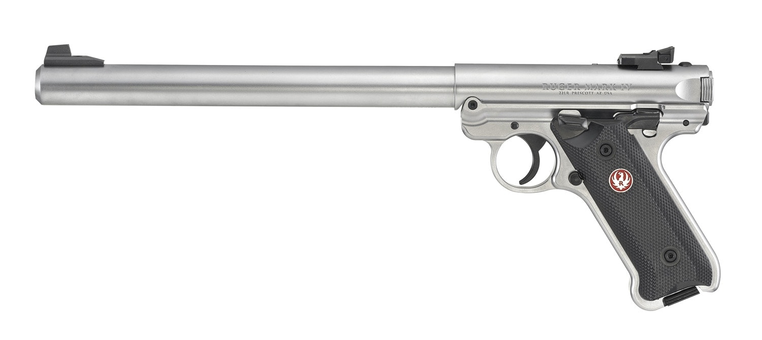 Ruger Mark IV Target Model stainless