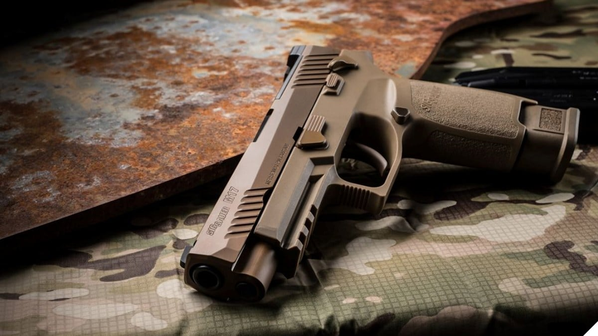 Sig Releases Previously Fielded Military Surplus M17 MHS Pistols