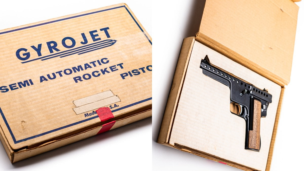 1960s Cool: The Rarely Seen Gyrojet Semi-Auto Rocket Pistol