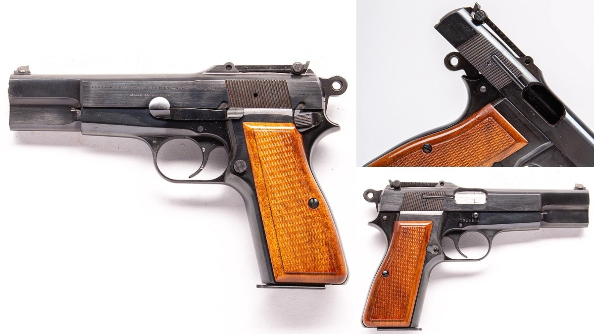1968 Belgian-marked Browning Hi-Power